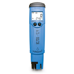 HI98311微电脑防水型笔式电导率/总固体溶解度/温度测定仪
